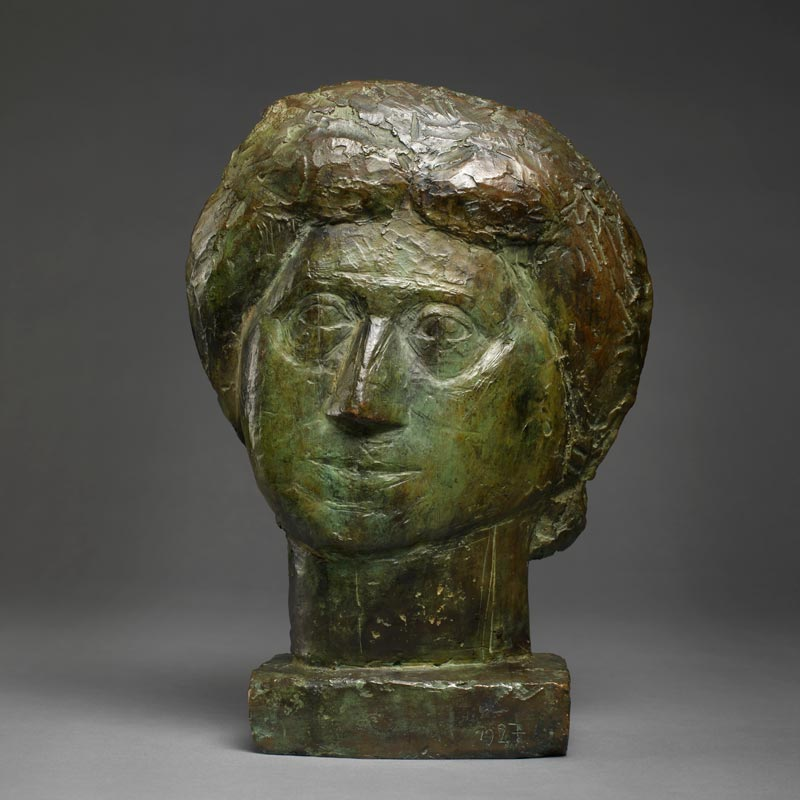 Alberto Giacometti - Tete de Femme (The Artist's Mother), 1927